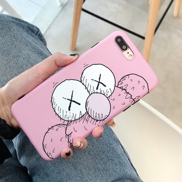 Iphone Xs Max Kaws Bff Pink Hypebeast Case Cover Nwt